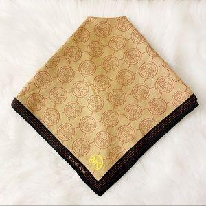 Michael Kors Signature Logo Handkerchief Scarf